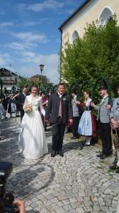 Hochzeit Verena Sperger und Wasti Bauer 05.05.2018