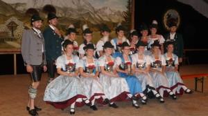 Siegerfoto Gaudirndldrahn 2018 in Rottau